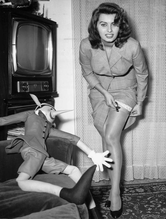 Sophia Loren despre a nu deranja vederea